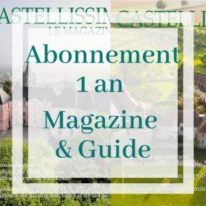 Abonnement magazine castellissim et guide castellissim