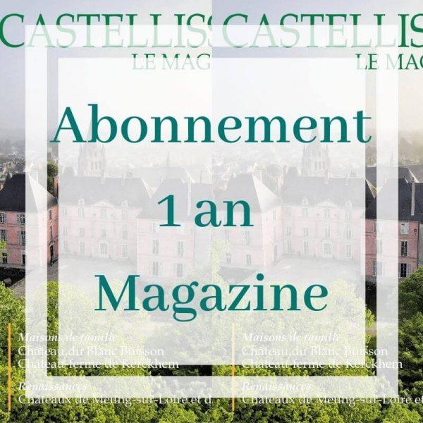 Abonnement magazine castellissim - 1 an